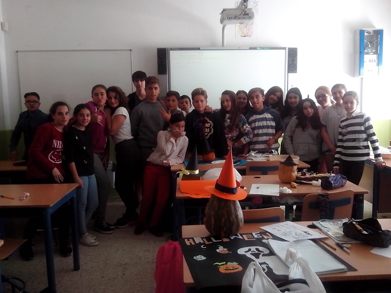 1º ESO C students