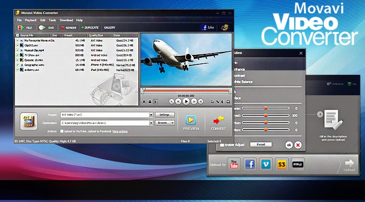 Movavi Video Converter v10.2.1 Free Download crack and serial keygen.