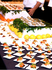 Food at Herzog International Food and Wine Festival