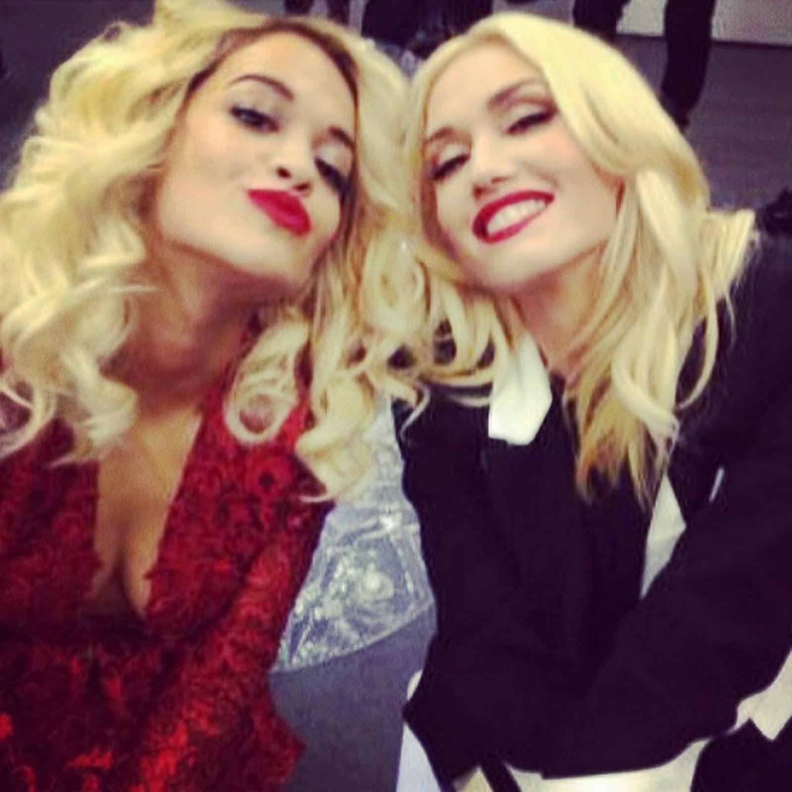 Nueva twipic HQ de Rita Ora & Gwen Stefani- 2 Marzo