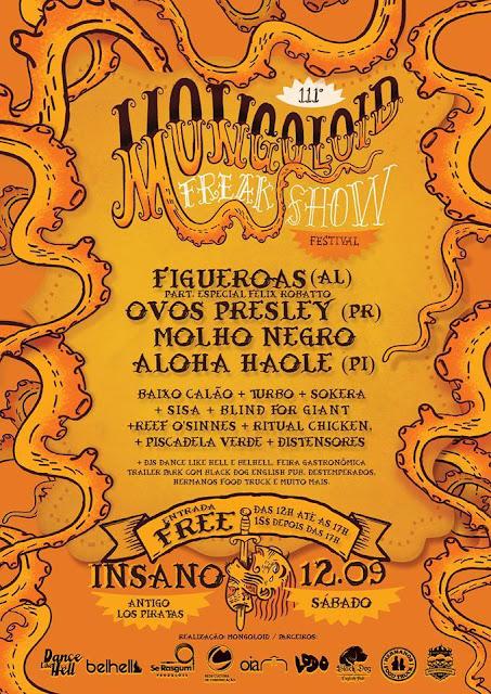 Ovos Presley - Participação no 111º Mongoloid Festival