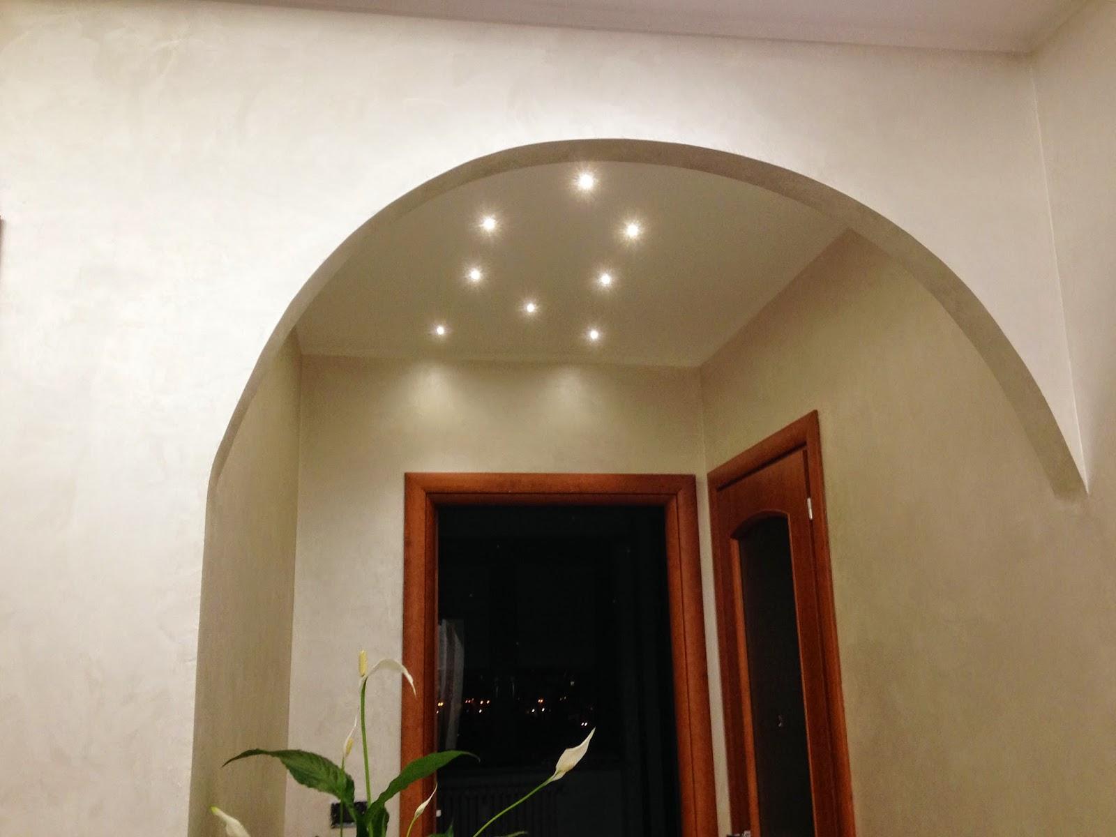 Salone A Led : Illuminazione Salone A Led : Faretti Led Travi ...
