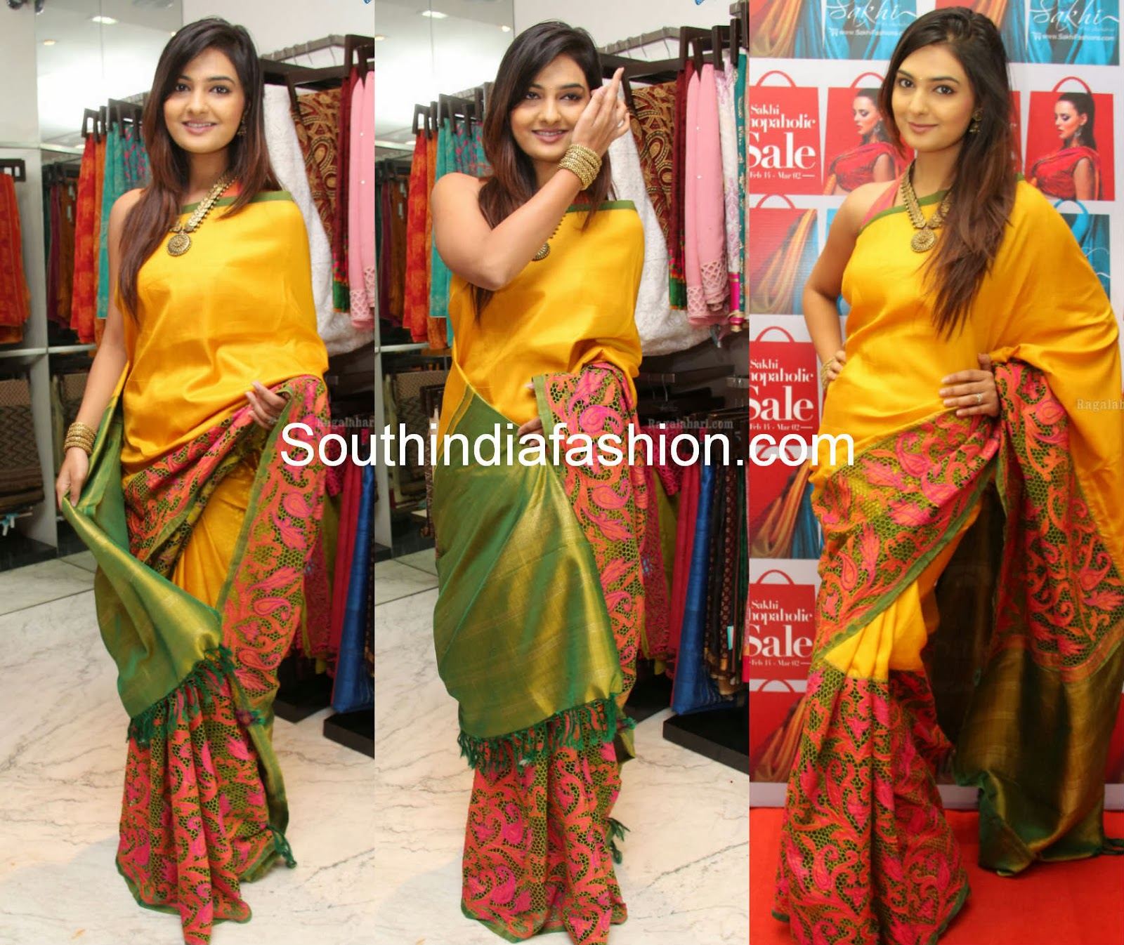 latest sakhi fashions sarees