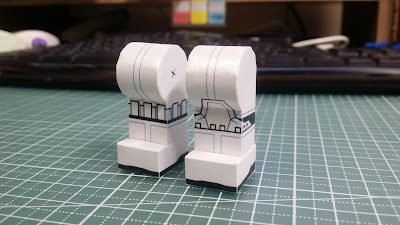 LEGO Starwars Stormtrooper Paper Craft