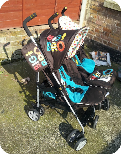 Cosatto Supa Dupa, cosatto double, big bro little bro, double stroller