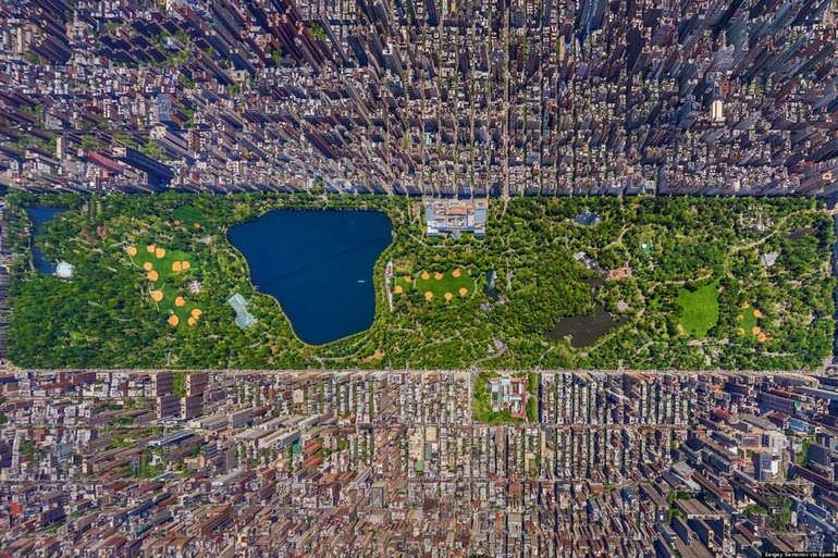 aerial photography - New York City