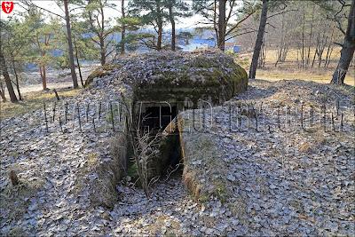 Вход в бункер-москит