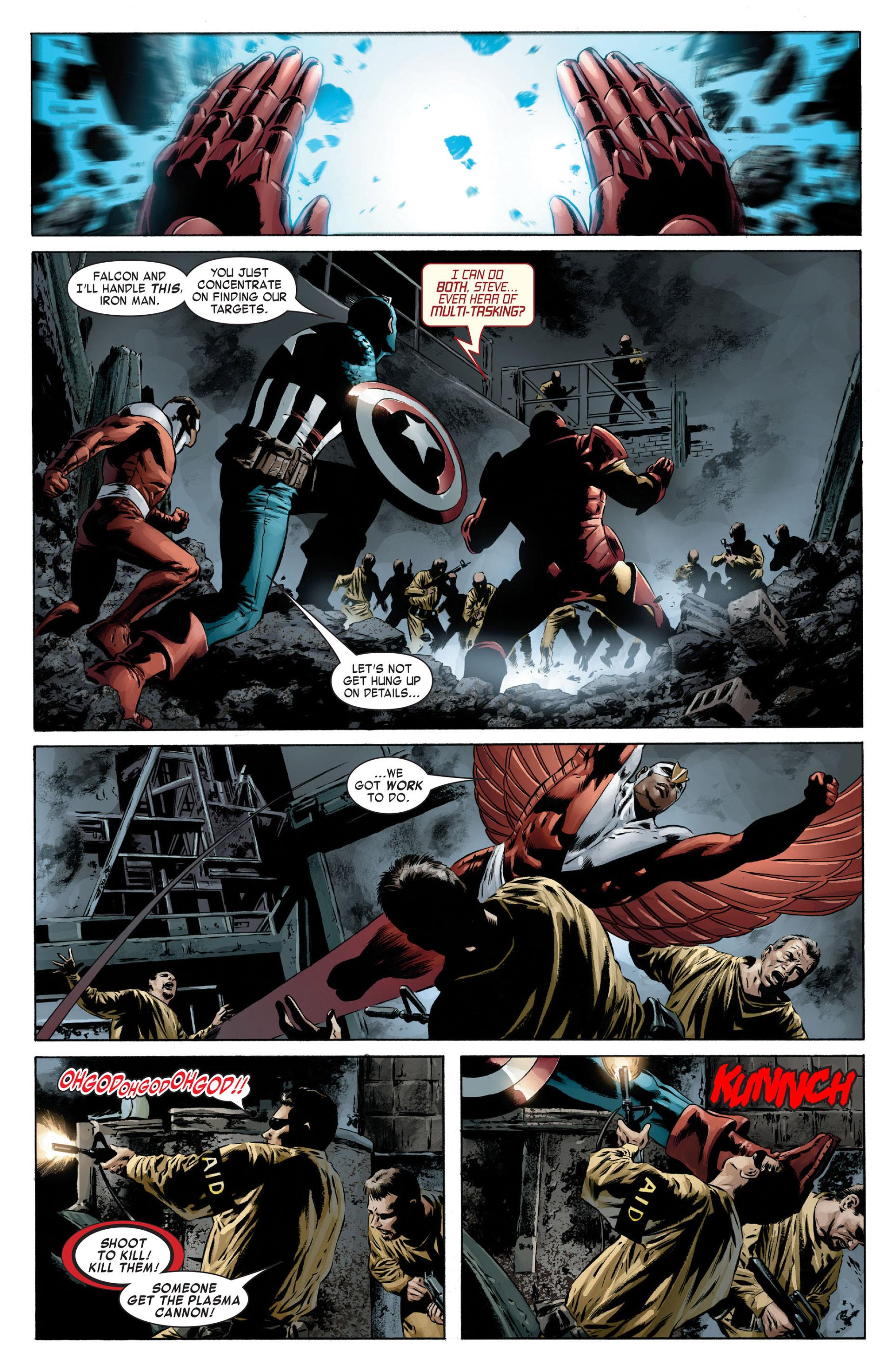 Captain America (2005) Issue #13 #13 - English 10