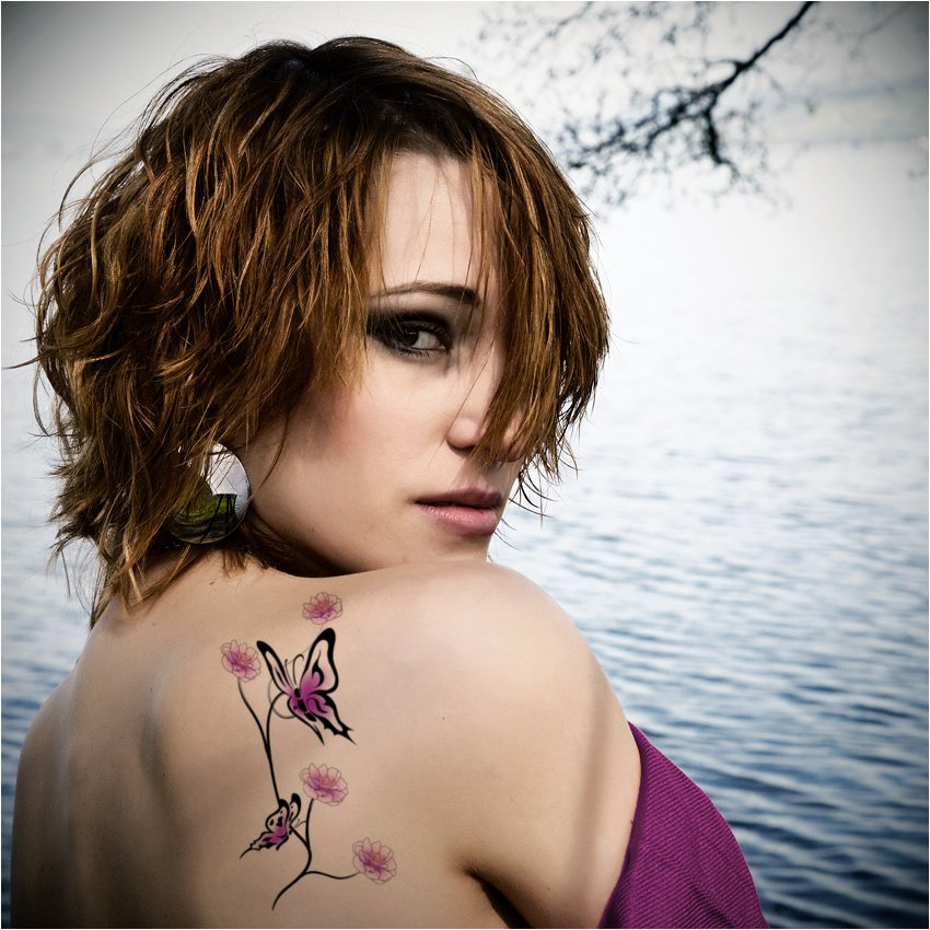 Tattoo For Womens: Butterfly Tattoos Women