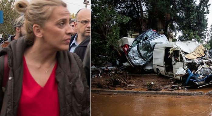 Έκθετη η Δούρου: Υπήρχε έτοιμο σχέδιο από το '15 για τις πλημμύρες, αλλά έμεινε στα χαρτιά! Καμία μέριμνα από την Περιφέρεια