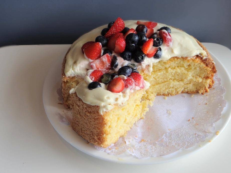 Sponge Cake Au Th Ef Bf Bd Matcha Recette