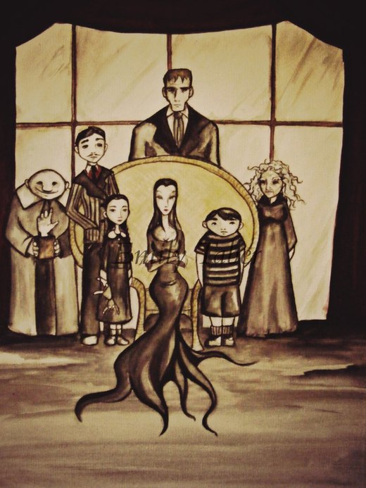 Addams Family ~Request por Reenin
