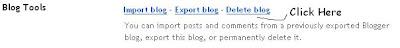 Delete Blog