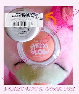 Cheky Glow In Wodden Rose by Maybelline
