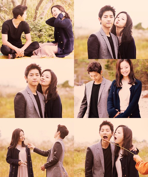 Song Joong Ki Girlfriend Song joong ki & moon chae won