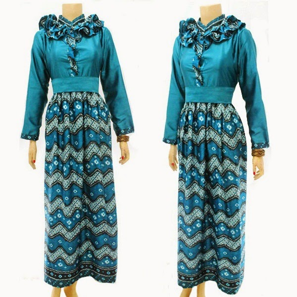 Baju Batik Dress Muslim Rang Rang