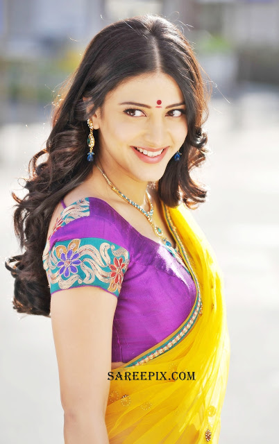 Shruti_Hassan_side_half_sarees_from_Gabbar-Singh