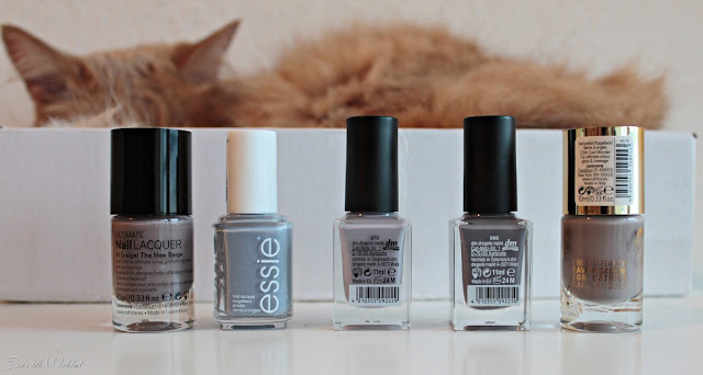grey, winter, nails, laquer, grey nails, catrice, essie, trend it up