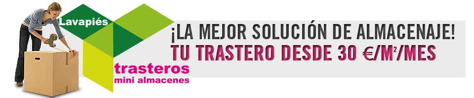 Ofertas en Trasteros Madrid