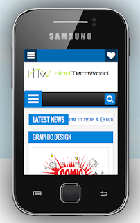 Check Your Website/Blog On Mobile in Pc