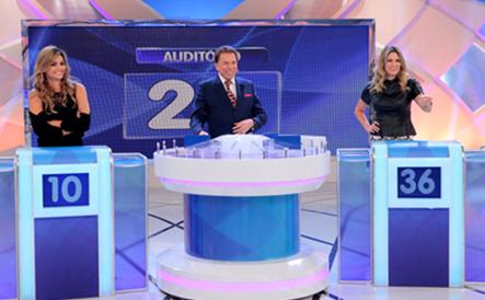 """Kelly Key e Didi Wagner são as convidadas do """"Jogo das 3 Pistas"""" no Programa Silvio Santos"""