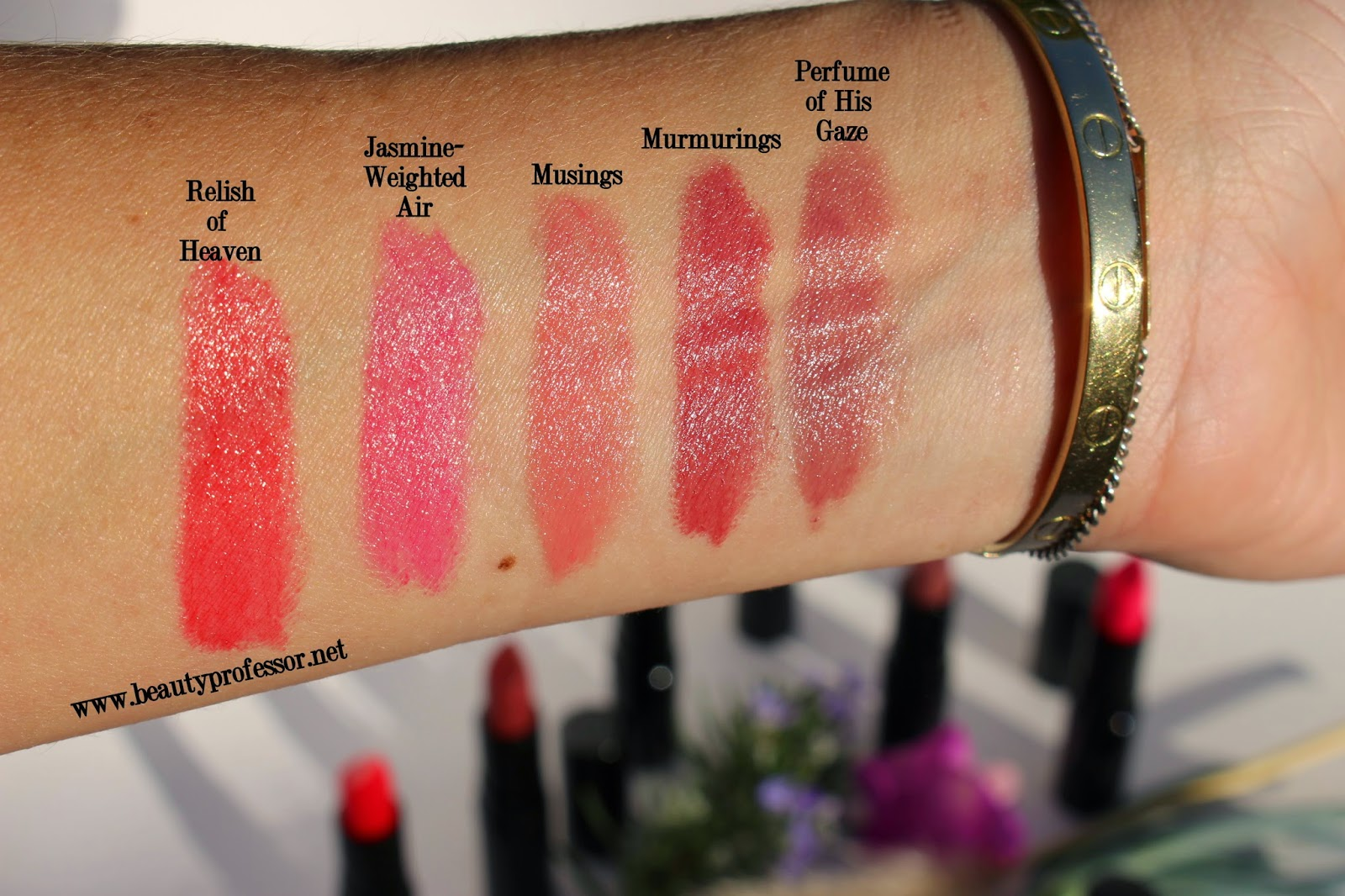 rouge bunny rouge succulence of dew lipstick swatches