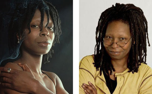 Whoopi+Goldberg Real names of famous people (10 pics)