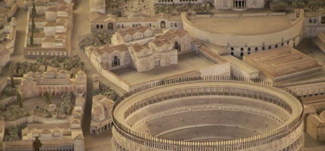 Antigua Roma, coliseo y Derecho romano