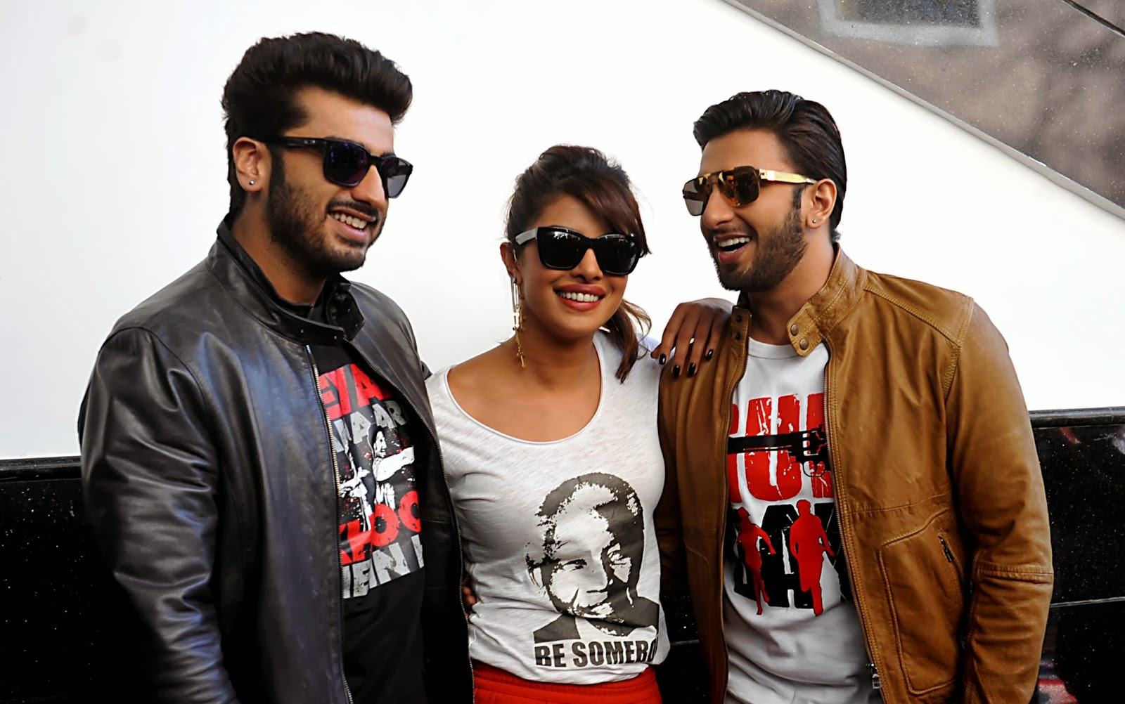 Aditya Chopra, Ali Abbas Zafar, Arjun Kapoor, Bollywood, Director, Forthcoming, Gunday, Hindi Film, India, Movie, Mumbai, Priyanka Chopra, Promotion, Ranveer Singh, Release, Showbiz, Worldwide,