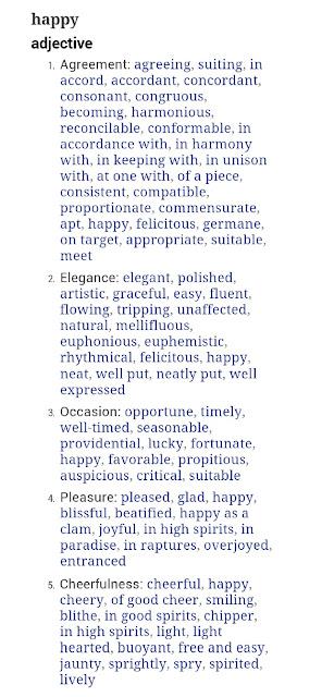 Synonyms essay