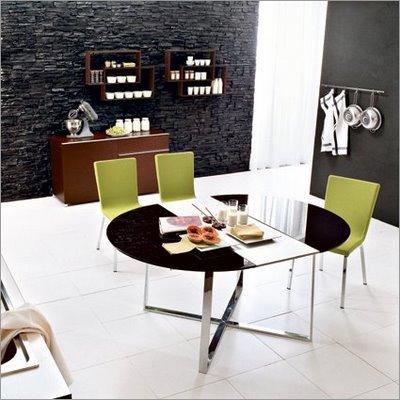 Decorando com estilo mesas de jantar redondas - Mesas redondas modernas ...