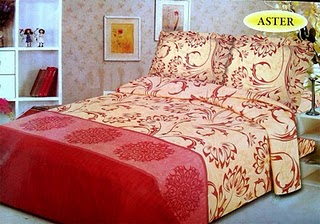 Sprei Bed Cover Lady Rose