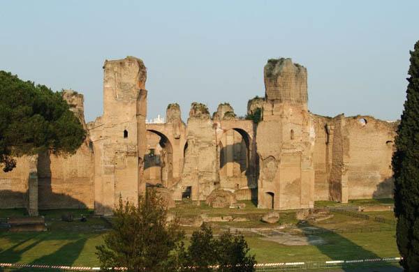 Le Terme di Caracalla e le gallerie sotterranee: visite guidate Roma 26/05/2013