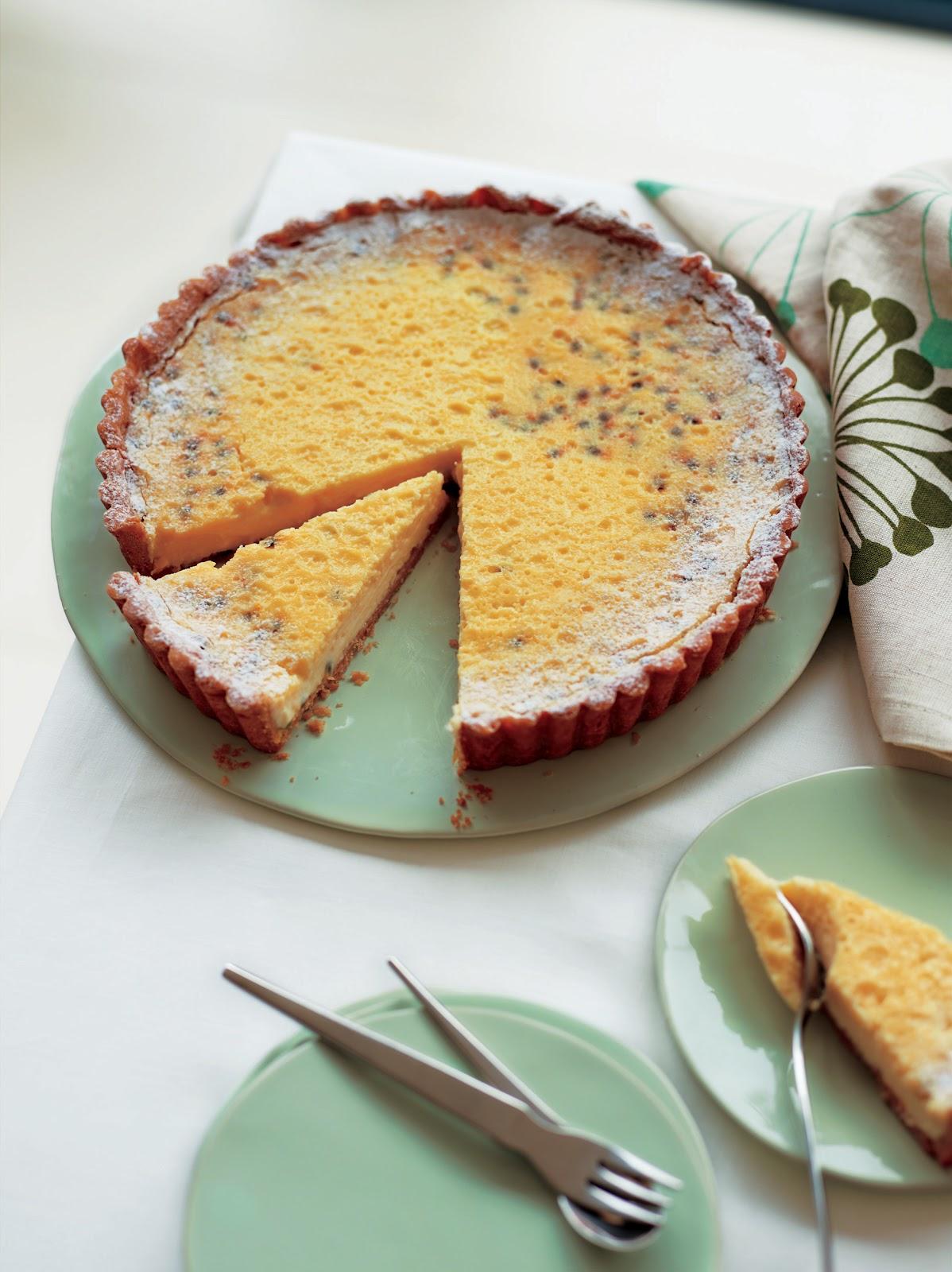 ... Fruit Tart and Gingerbread Souffles from Home Bake by Eric Lanlard