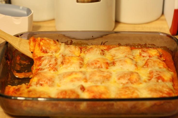 it baked ravioli lasagna though because it tastes a lot like lasagna ...
