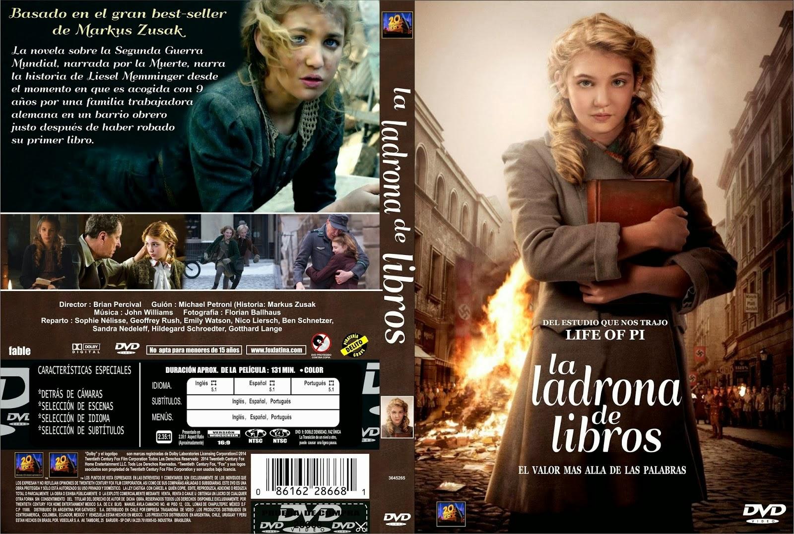La Ladrona De Libros DVD
