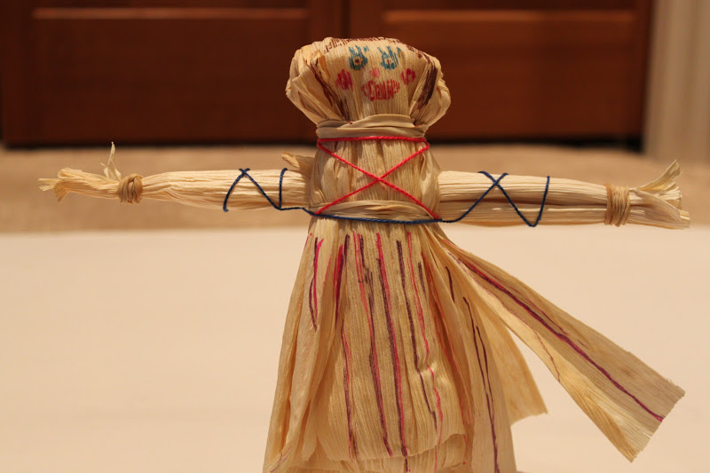 Watch How to Make a Corn Husk Doll video