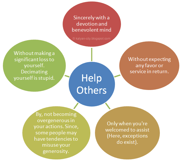 how to help others