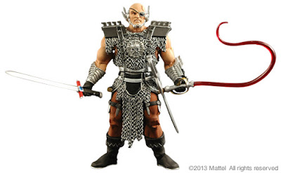Mattel Matty Collector Masters of the Universe Classics Blade - 2014 Subscription Figure