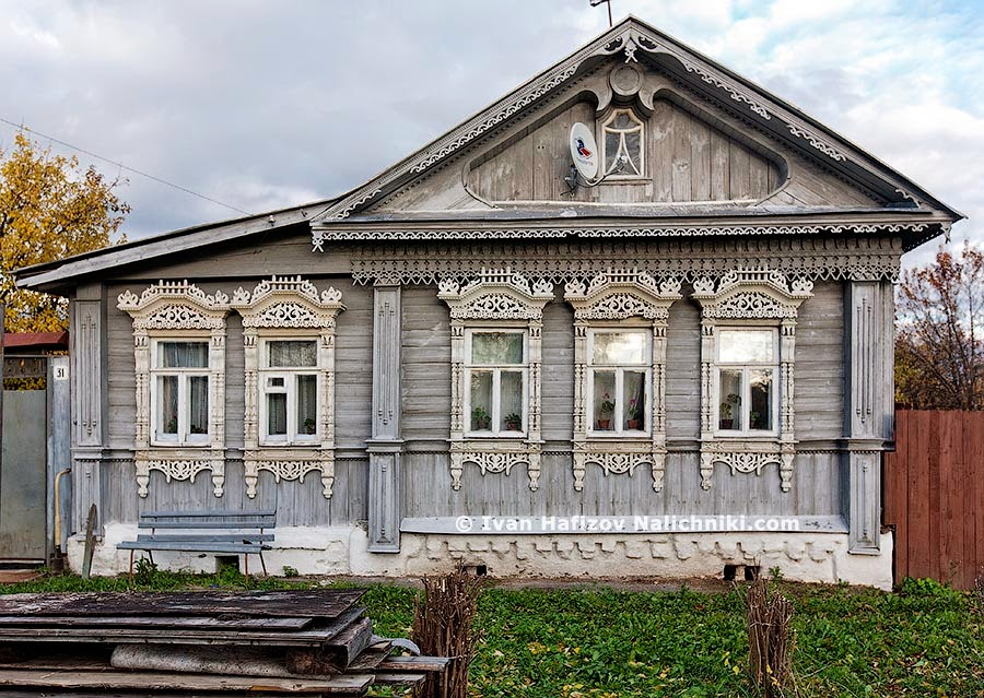 Деревенские деревянные дома фото