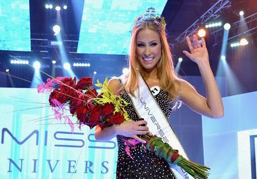 Lubica Stepanova,Miss Universe Slovak Republic 2012