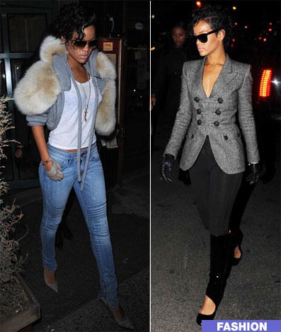 La X Sacha 39 S Wardrobe Celebrity Crush Rihanna