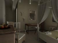 3d model interior hotel room kefalonia
