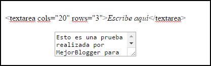 cuadro en html