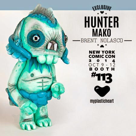 New York Comic Con 2014 Exclusive Mako Edition Hunter Resin Figure by Brent Nolasco