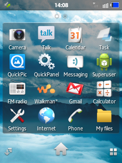 Xperia-Duos Rom for Samsung Galaxy Y Duos S6102