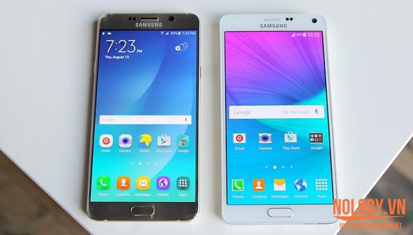 Samsung Galaxy Note 4 Hàn Quốc và Note 5