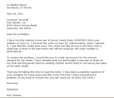 Contoh Response Letter