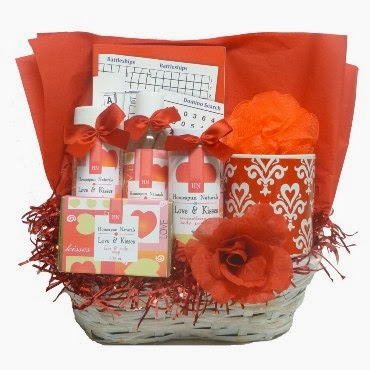 Valentine's Day Gifts - Book Gift Baskets