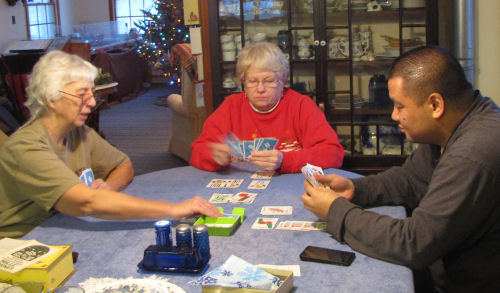 playing Mille Bornes